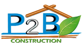 P2B Construction Logo