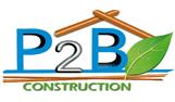 P2B Construction Logo